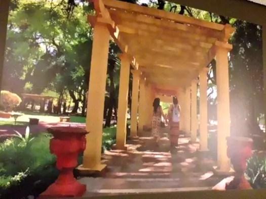 O Parque da Redenção sempre decorando o quarto e convidando para um passeio por POA!