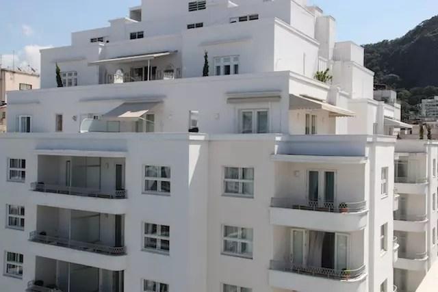 O outro prédio do Copacabana Palace visto do alto, lindo em qualquer ângulo