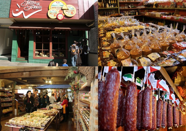 Carlos Barbosa também é a cidade do queijo, por isso, visita com degustação