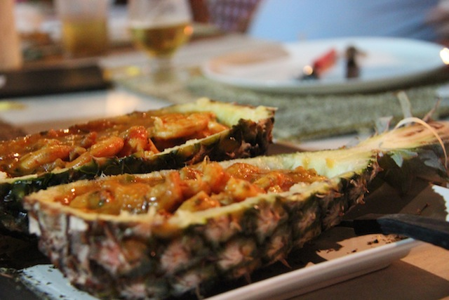 Camarão a Jeri - prato típico de Jericoacoara na homenagem do restaurante à Rota das Emoções - prove!