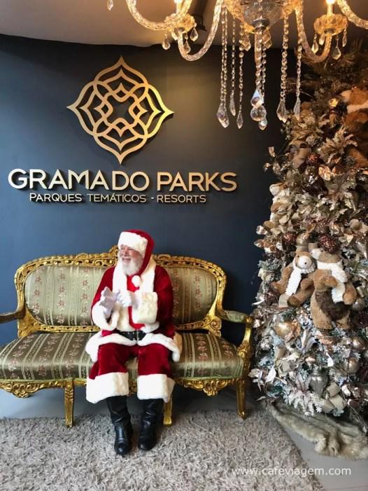 Papai Noel em Gramado