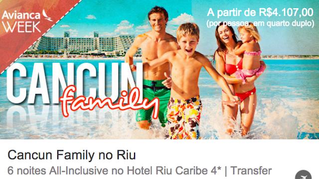 Cancun em Familia
