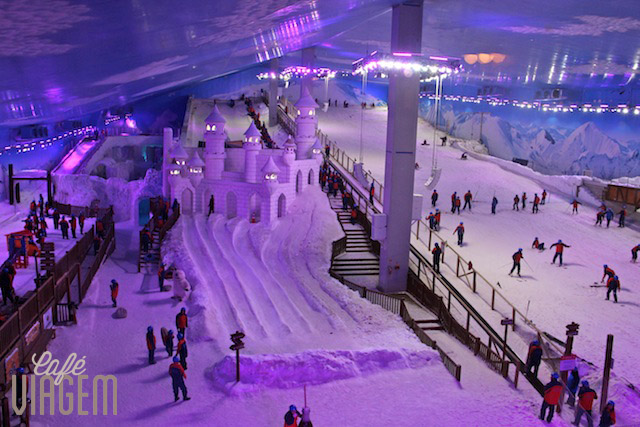 Parque Snowland, uma das atrações indoor para dias de chuva em Gramado