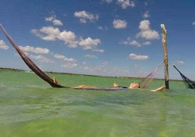 Lagoa do Paraíso em Jericoacoara