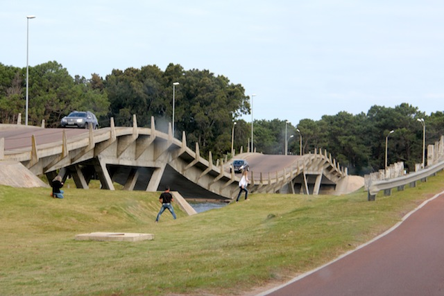 ponte ondulada Punta