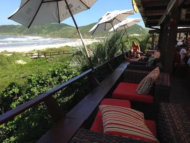 Onde comer na Praia do Rosa