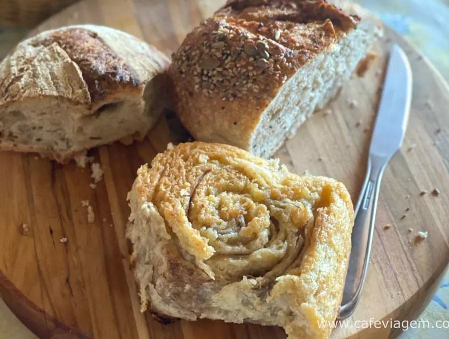 pães em Garopaba