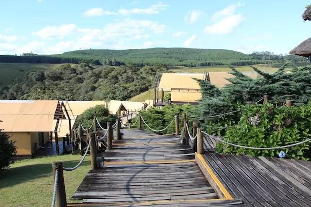 Parador Casa da Montanha barracas