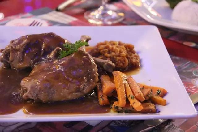 o pato delicioso do Bistrot
