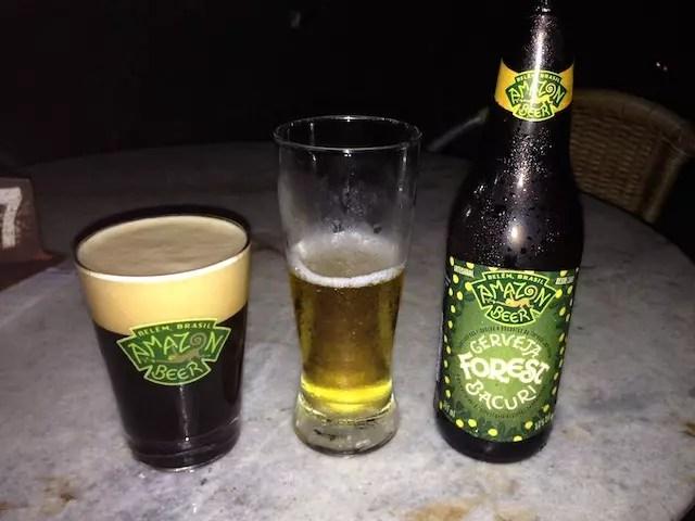 Se tem Estação das Docas, tem que ter cerveja Amazon Beer - parada obrigatória