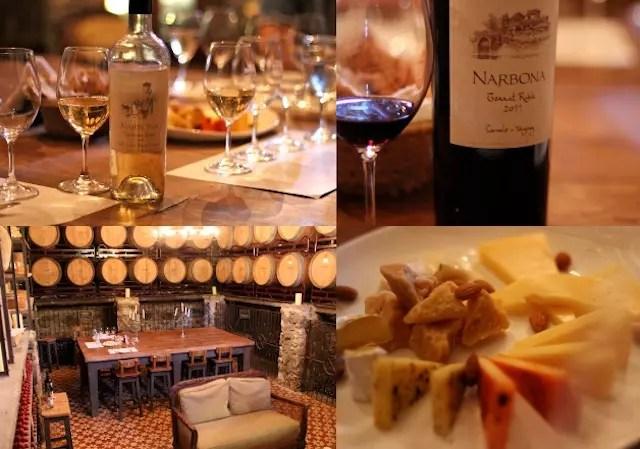 Bodega Narbona - degustação incrível com queijos também produzidos pela granja. O tanat é tudo de bom