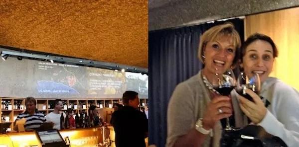 Guia que bebe vinho junto fica ainda mais divertido, certo? Eu e Angela ficamos amigas nos primeiros 10 minutos!