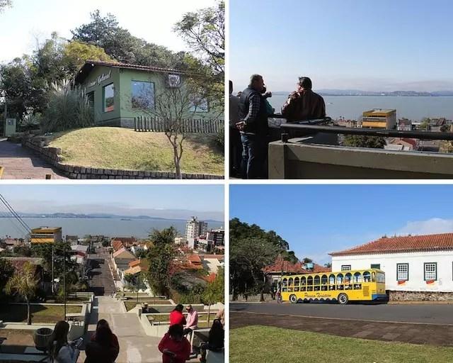 A Vitrine Cultural, o Mirante, a Escadaria e a Casa Gomes Jardim, tudo muito próximo