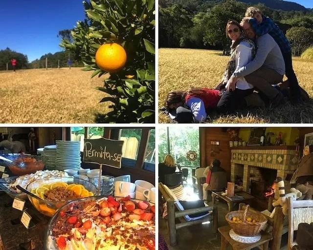 Almoço delícia com natureza no Ecoparque Sperry