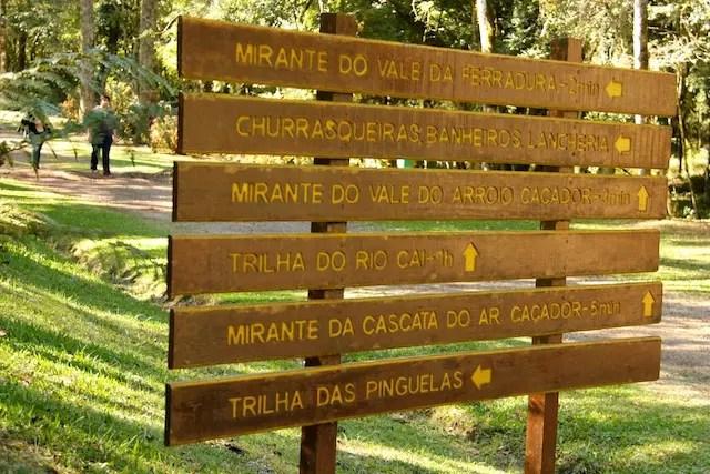 Parque Ferradura que tem mirante com uma vista linda. Anda quero voltar no verão pra fazer a trilha do Rio Caí