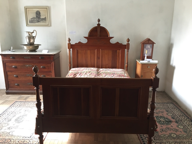 O quarto onde faleceu Gomes Jardim e Bento Gonçalves