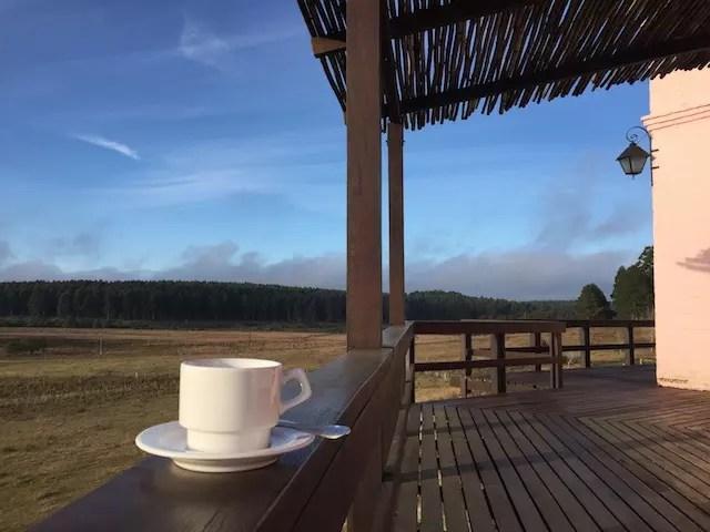 Do vinho ao café da manhã com essa vista, que experiência!!