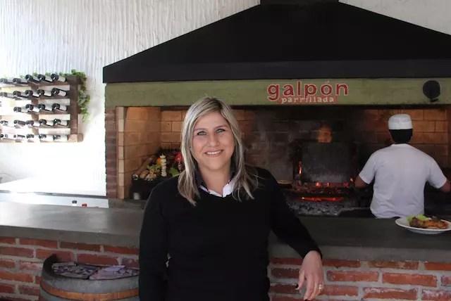 Olga, a proprietária da casa