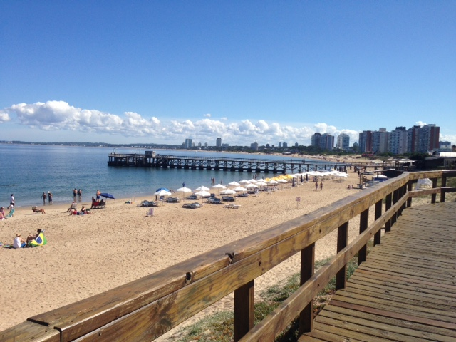 Praia Mansa Punta del Este - Uruguai