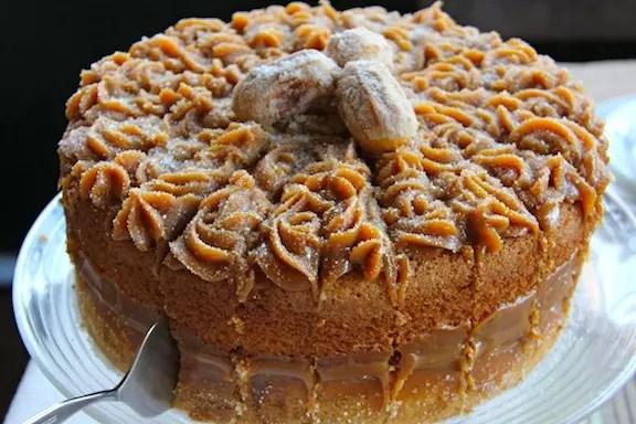 O bolo churros do Vila Suzana Parque Hotel, uma das receitas do Sabores de Canela