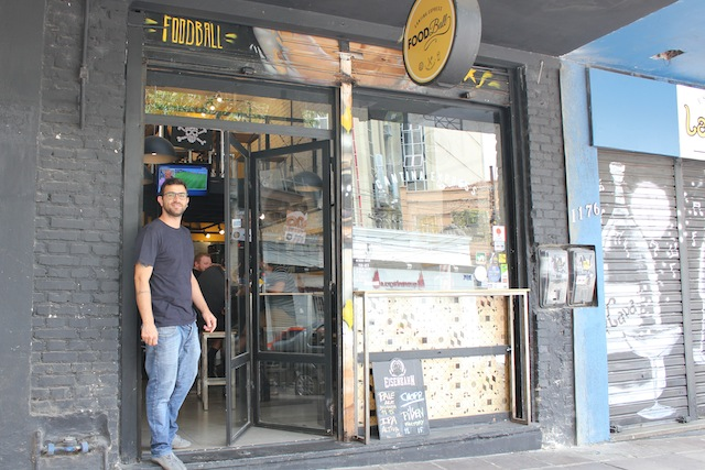 o FoodBall na Rua Rua do Futebol em Porto Alegre