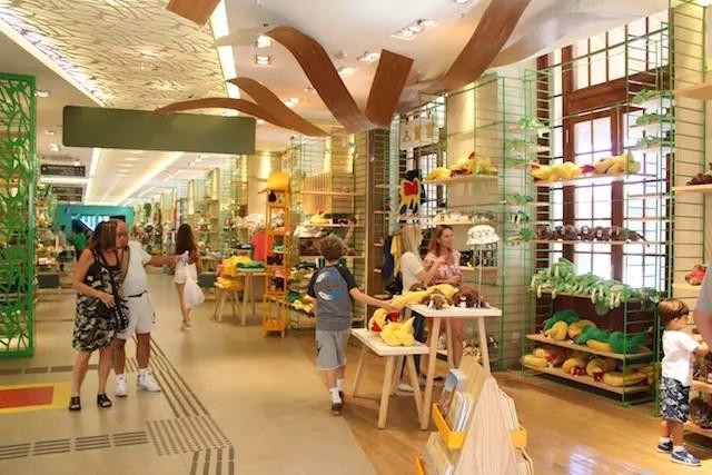 Loja do Centro de Visitantes Paineiras Corcovado