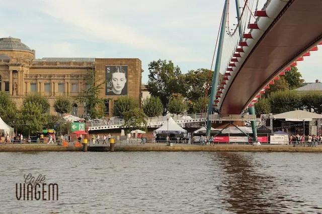 Museumsuferfest em Frankfurt Alemanha