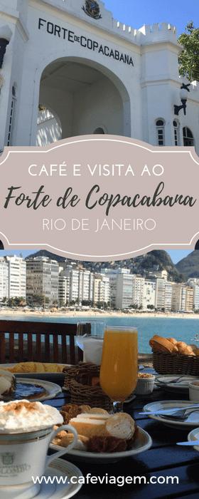 café da manhã na Confeitaria Colombo do Forte de Copacabana