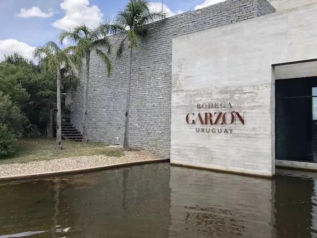 visita à Bodega Garzón do Uruguai