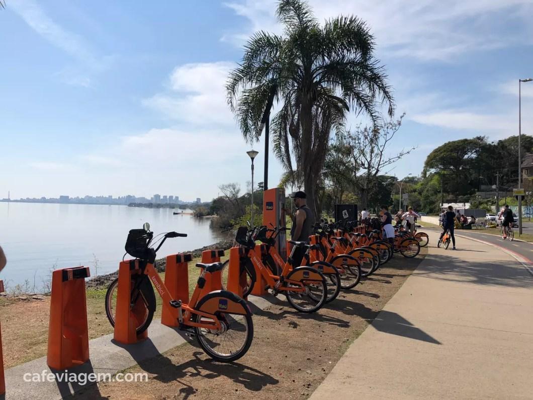 Orla do Guaíba bicicletas