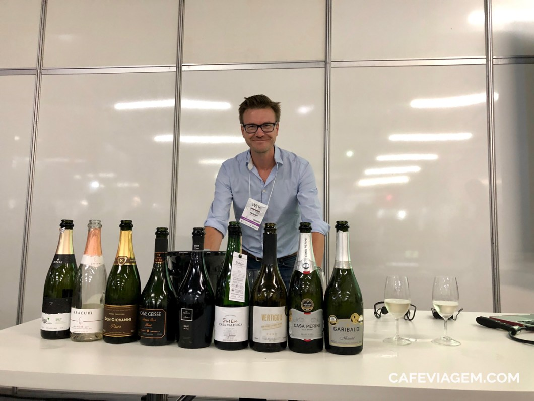 Alistair Cooper na Wine South America
