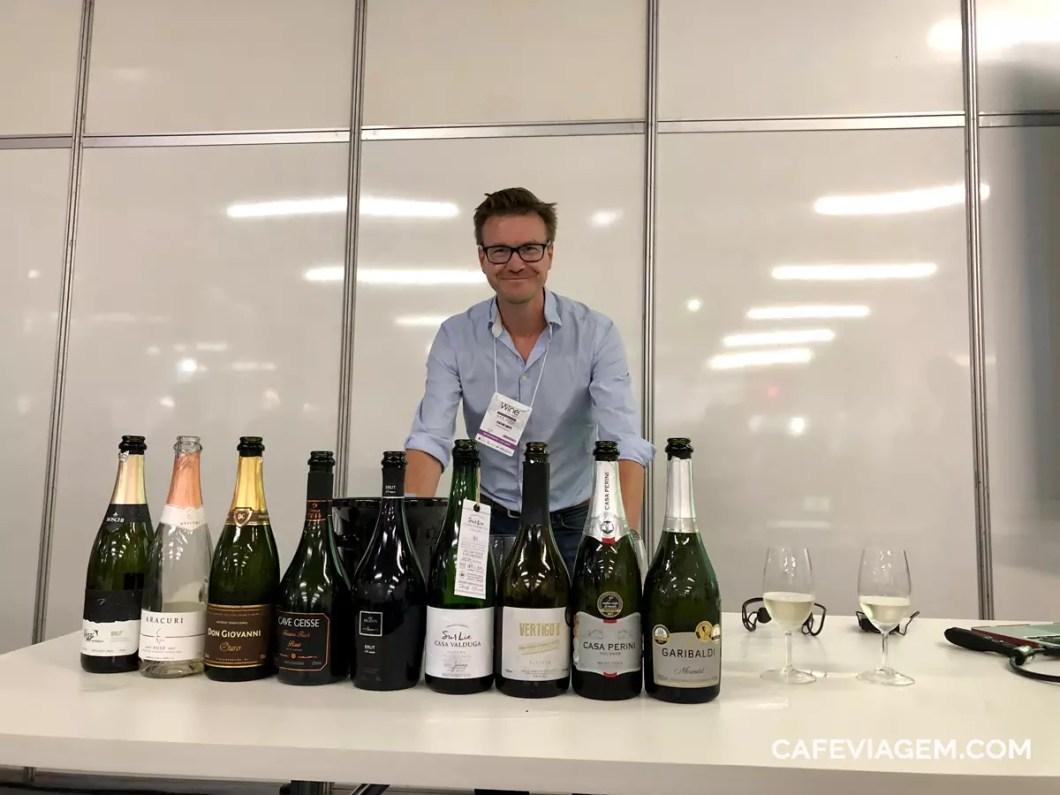 Alistair Cooper na Wine South America