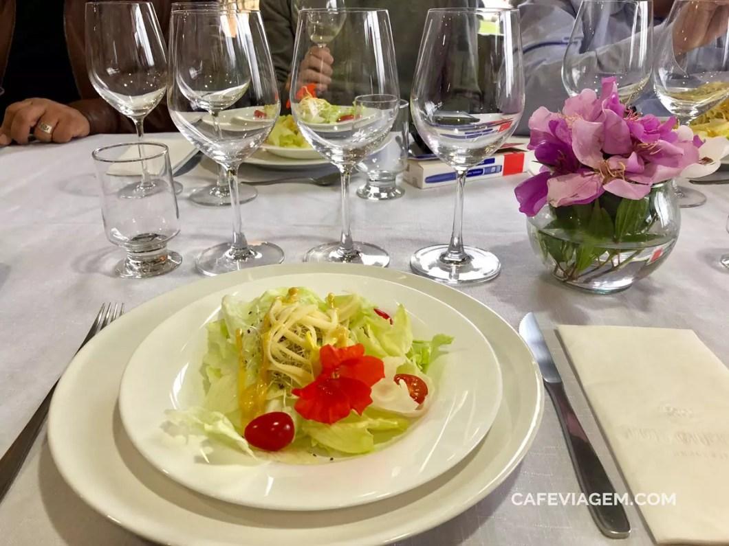 almoço Don Guerino
