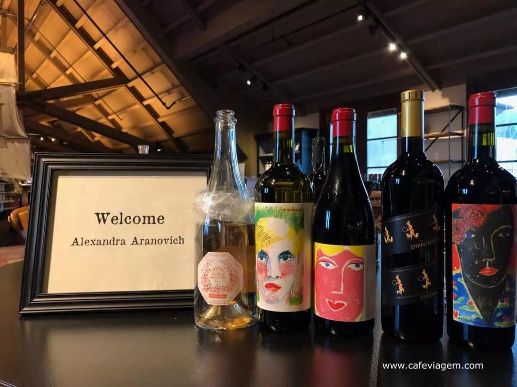 vinícola do Coppola degustação