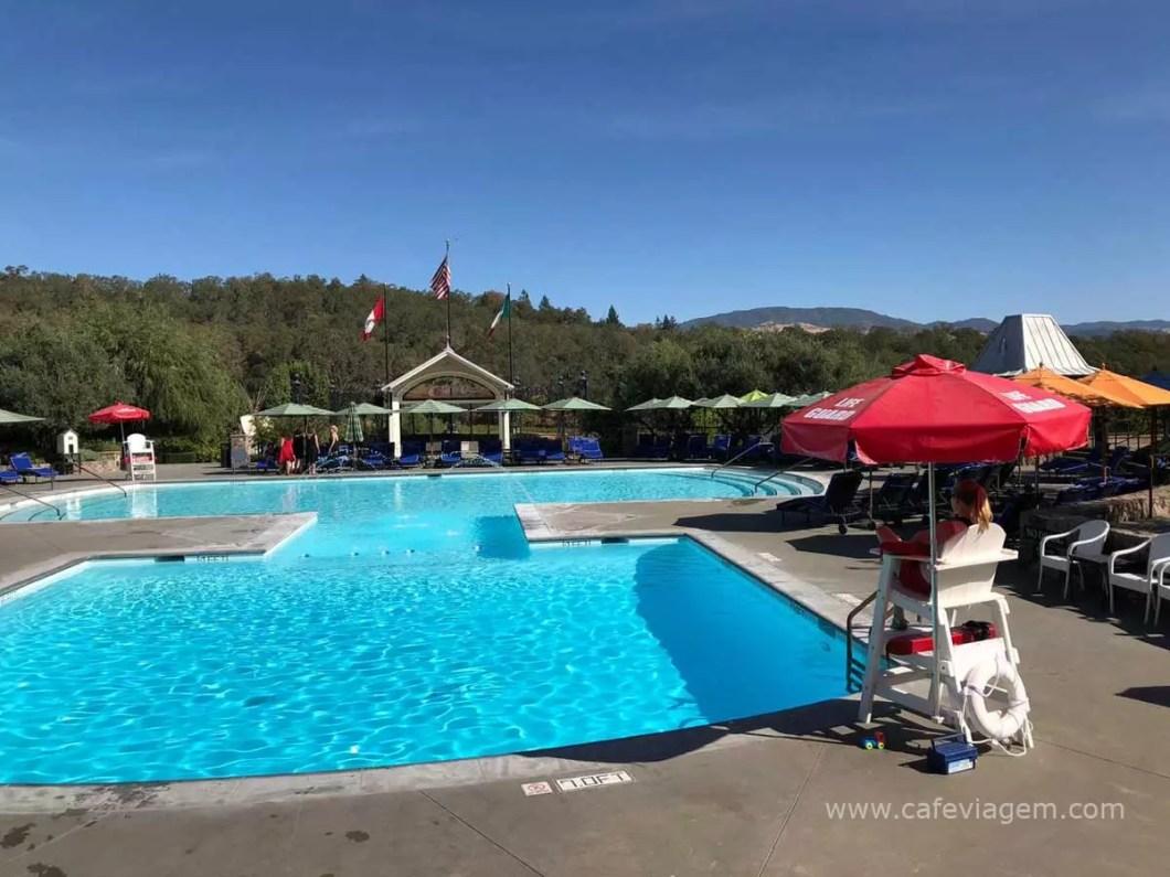vinícola do Coppola piscina