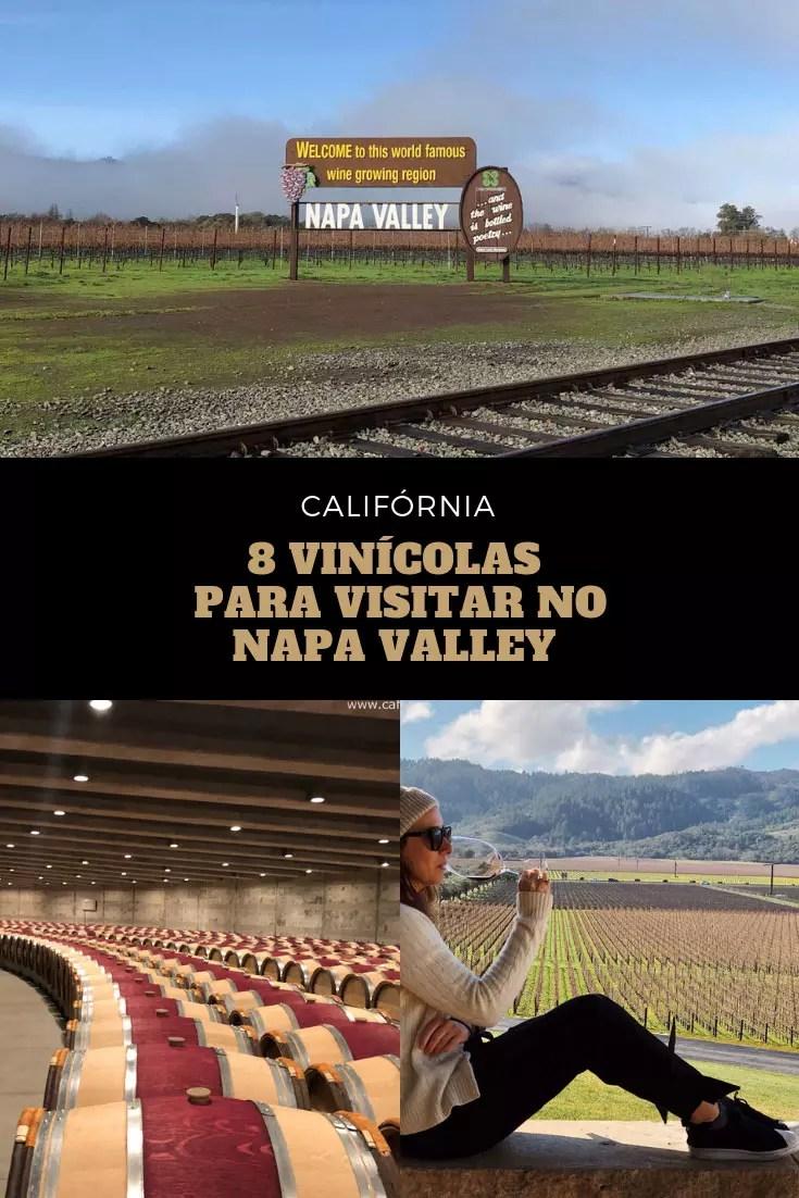 melhores vinícolas Napa Califórnia