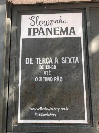 pão em Ipanema Rio
