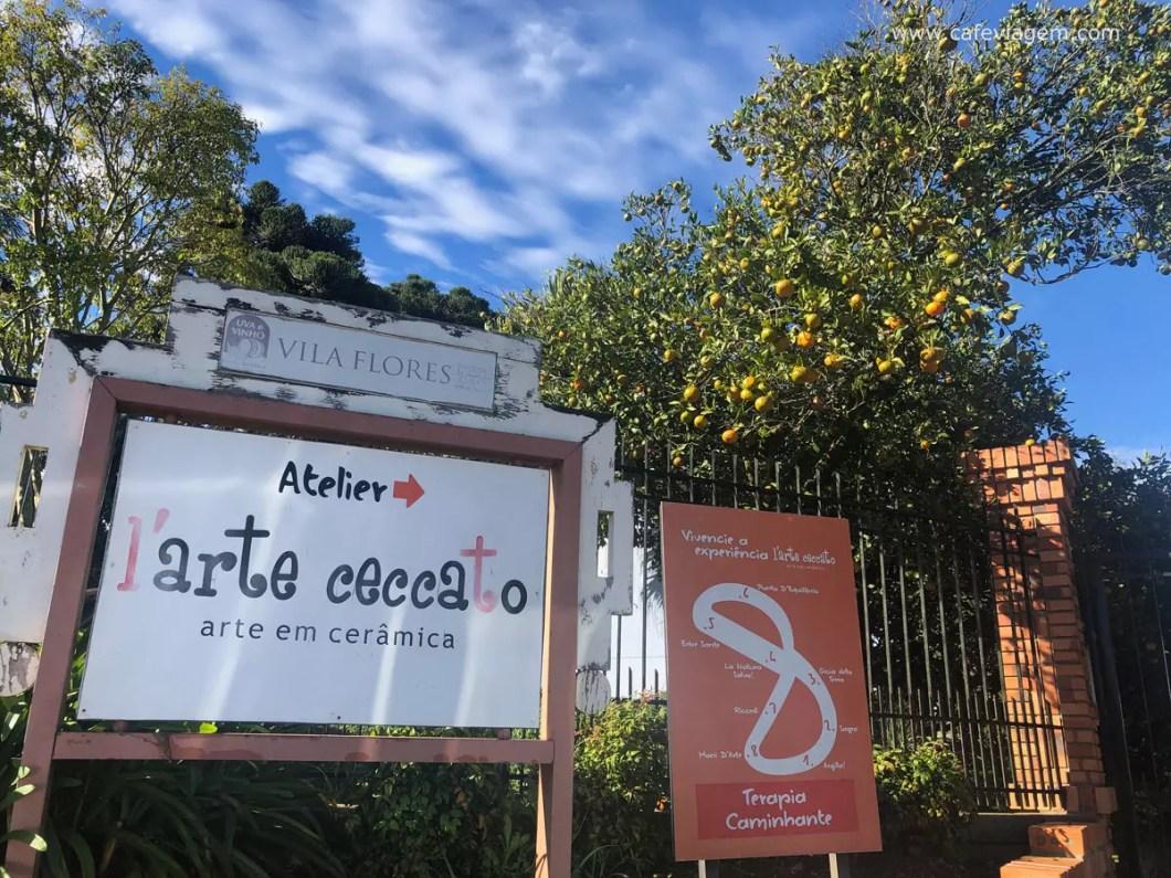 Vila Flores na serra gaúcha