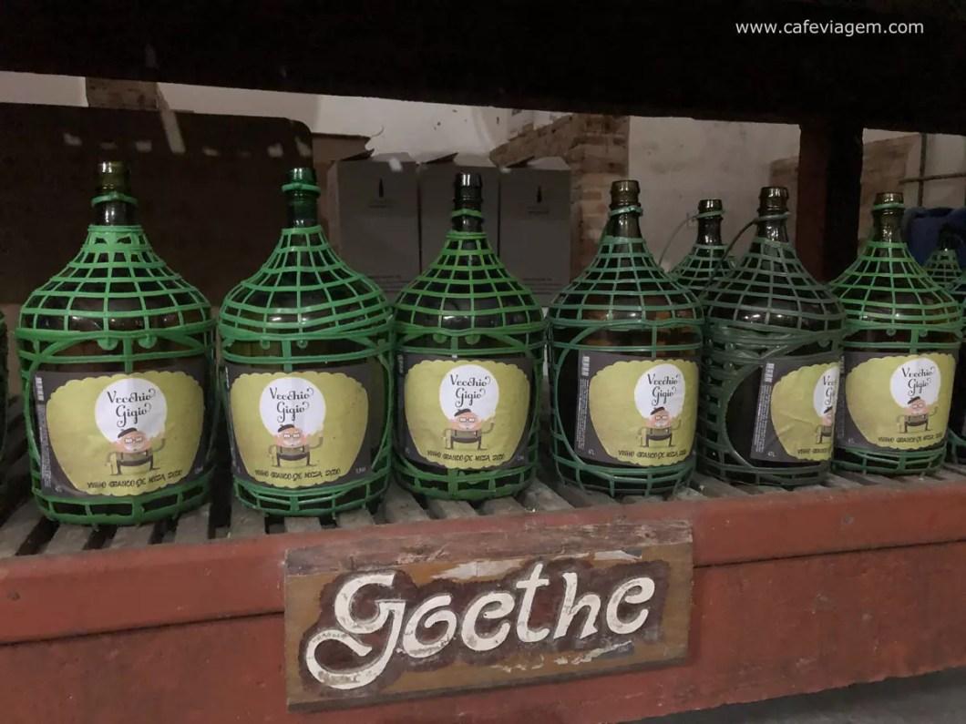 vinho uva Goethe