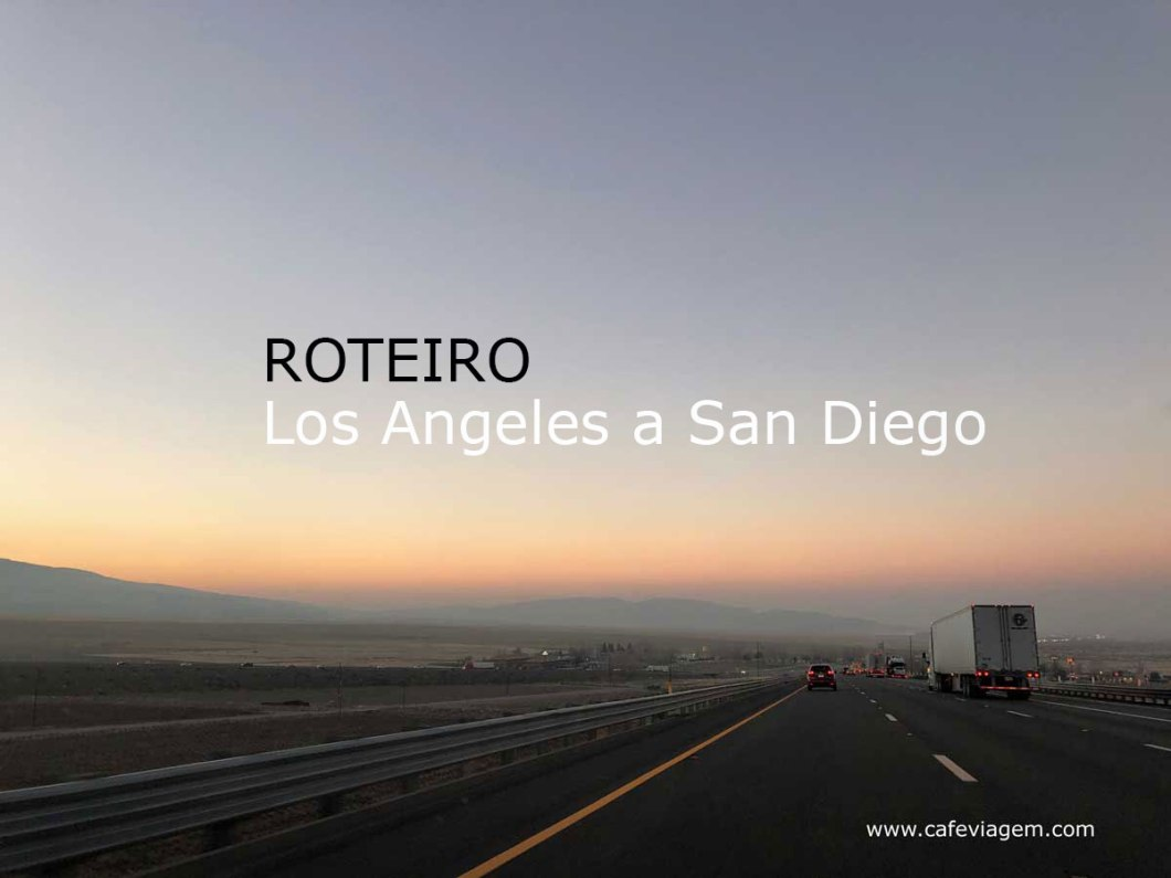 Los Angeles a San Diego roteiro