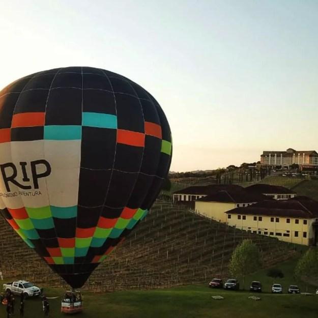 voo de balão Vale dos Vinhedos