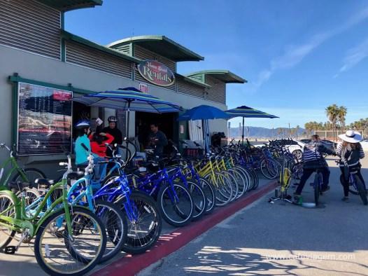 Dicas Venice Beach bicicleta