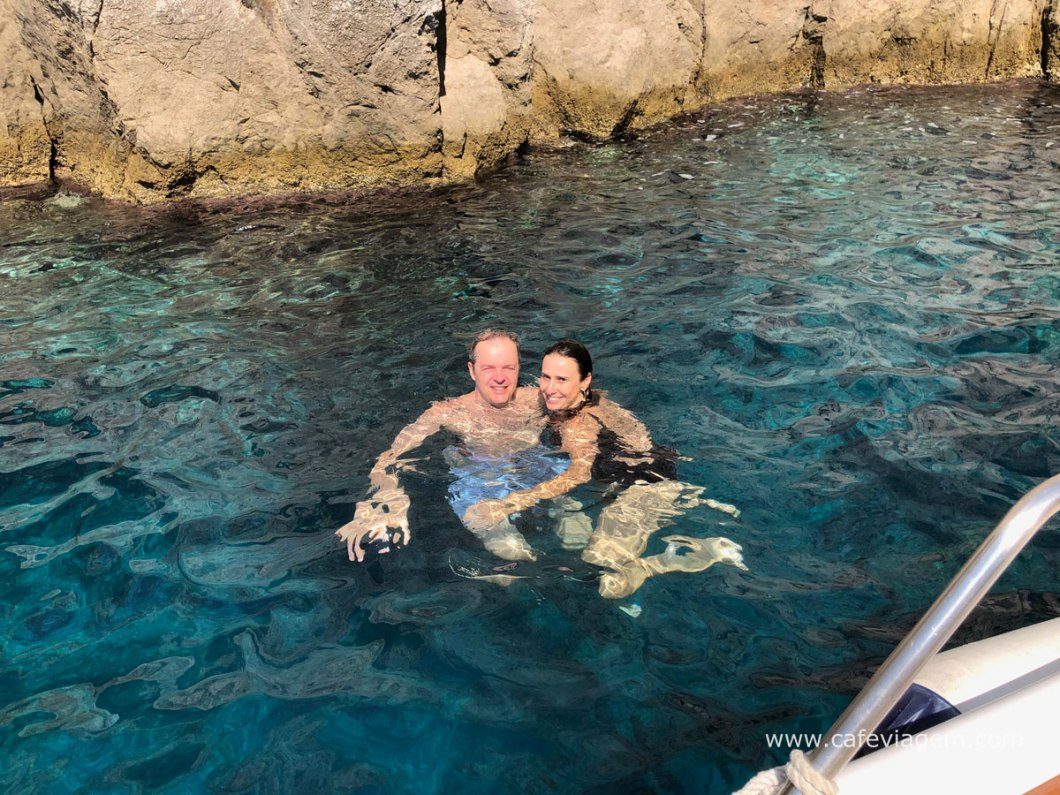 passeio de barco em Capri