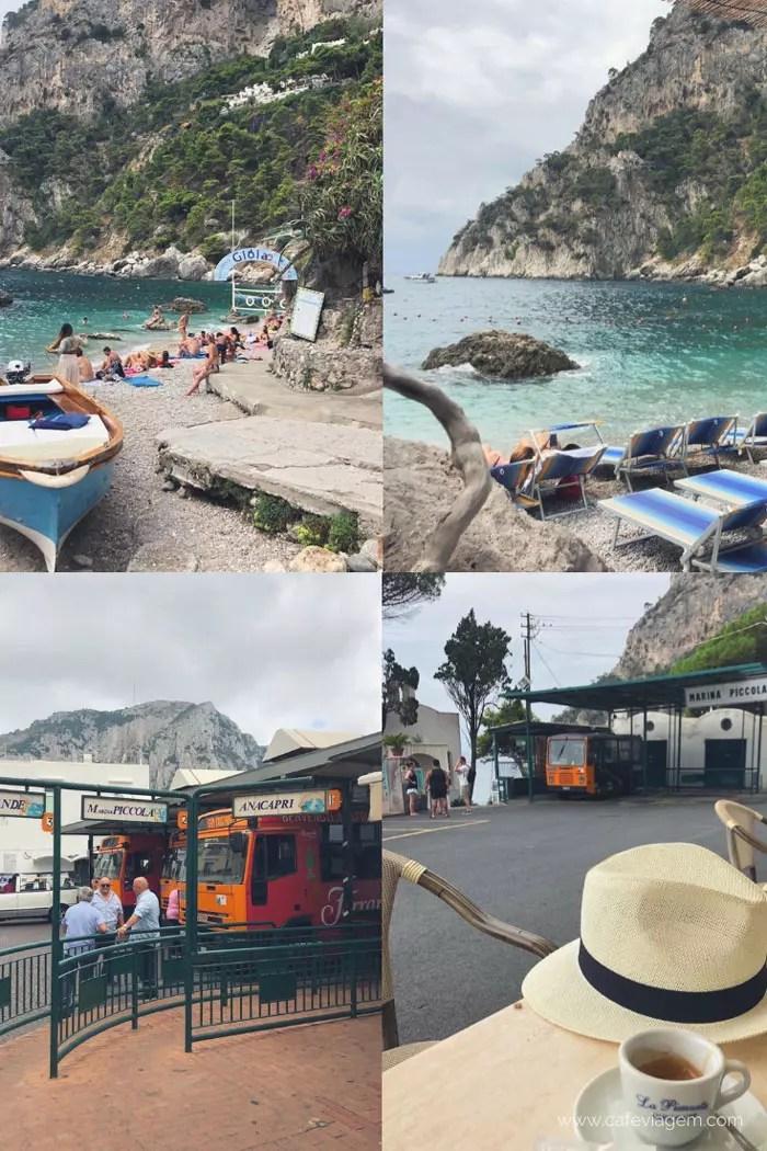Praias Capri