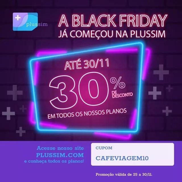 Black Friday Chip Celular internacional
