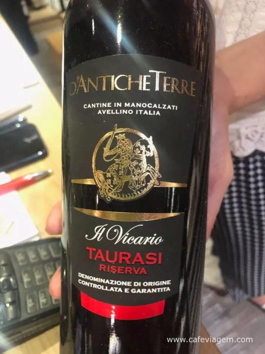 vinho Taurasi