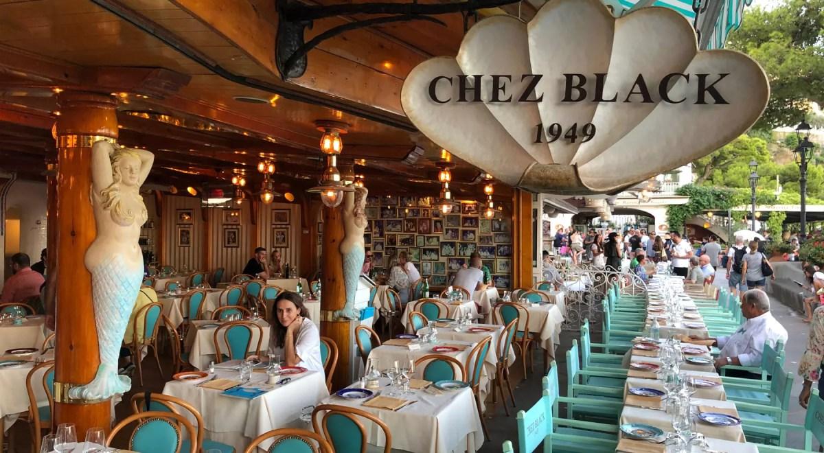 Chez Black em Positano