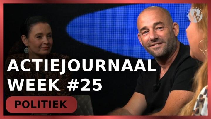 Actiejournaal week #25 - Martina Groenveld met Michel Rijenga en Sascha Beentjes