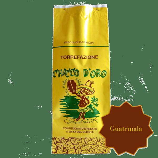 Torrefazione Caffè Chicco D'Oro   Caffè Guatemala in grani, macinato per moka ed espresso