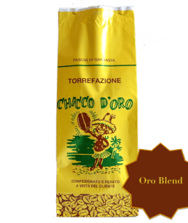 Torrefazione Caffè Chicco D'Oro | Caffè Oro Blend in grani, macinato per moka ed espresso